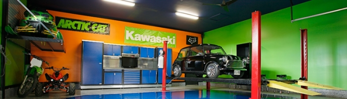 Garage Custom Floor Coatings | GarageGuyz