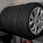 Garage Storage - Tire Rack